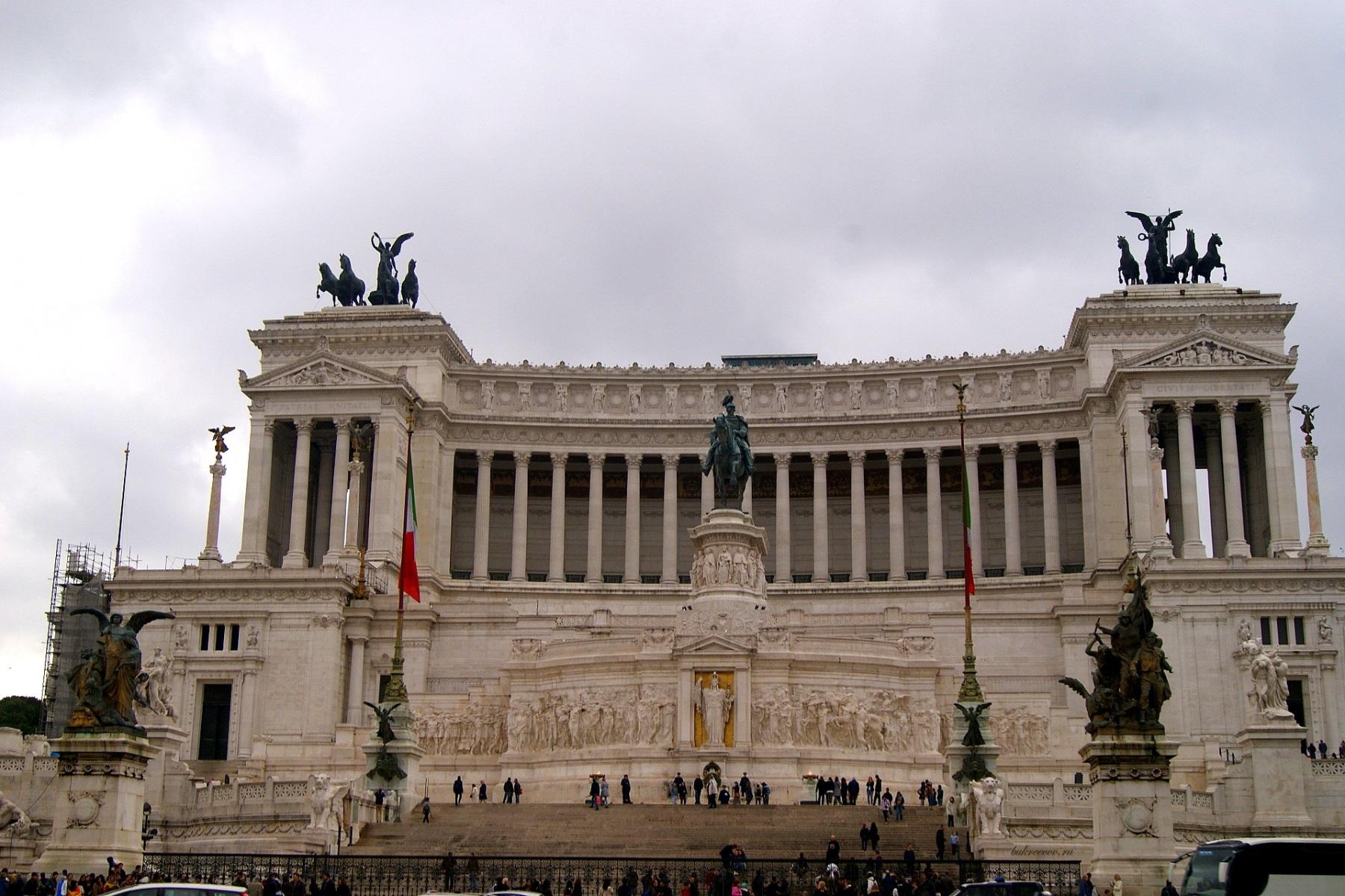 Il Monumento nazionale a Vittorio Emanuele II 26