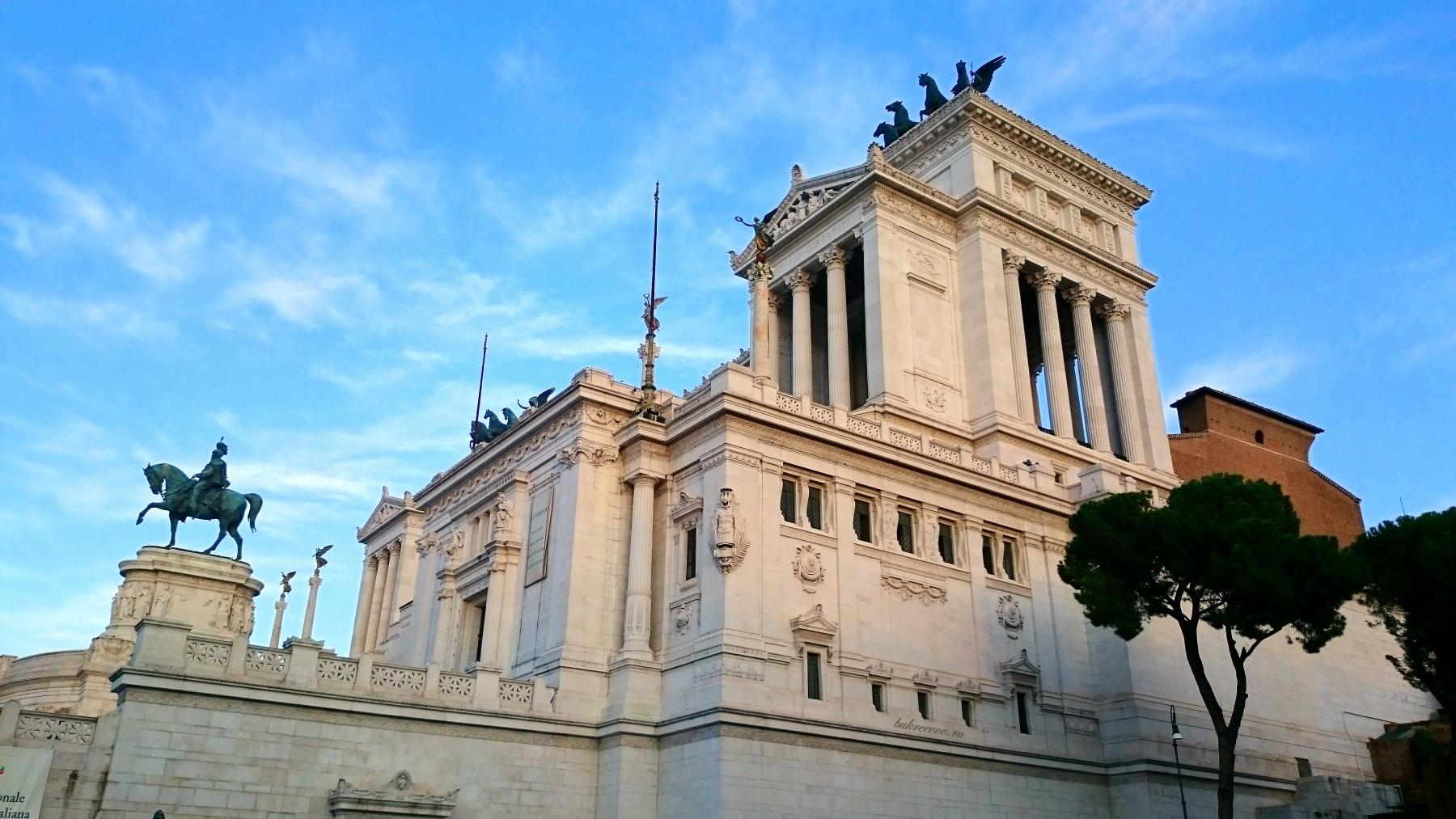 Il Monumento nazionale a Vittorio Emanuele II 40