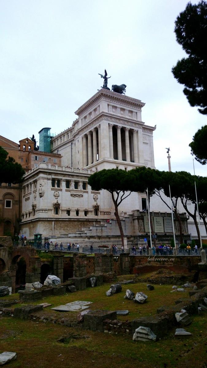Il Monumento nazionale a Vittorio Emanuele II 50