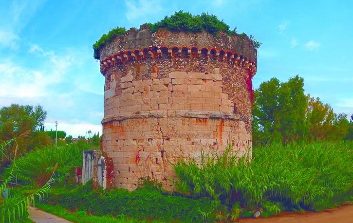 Mausoleo dei Plauzi Ponte Lucano 23