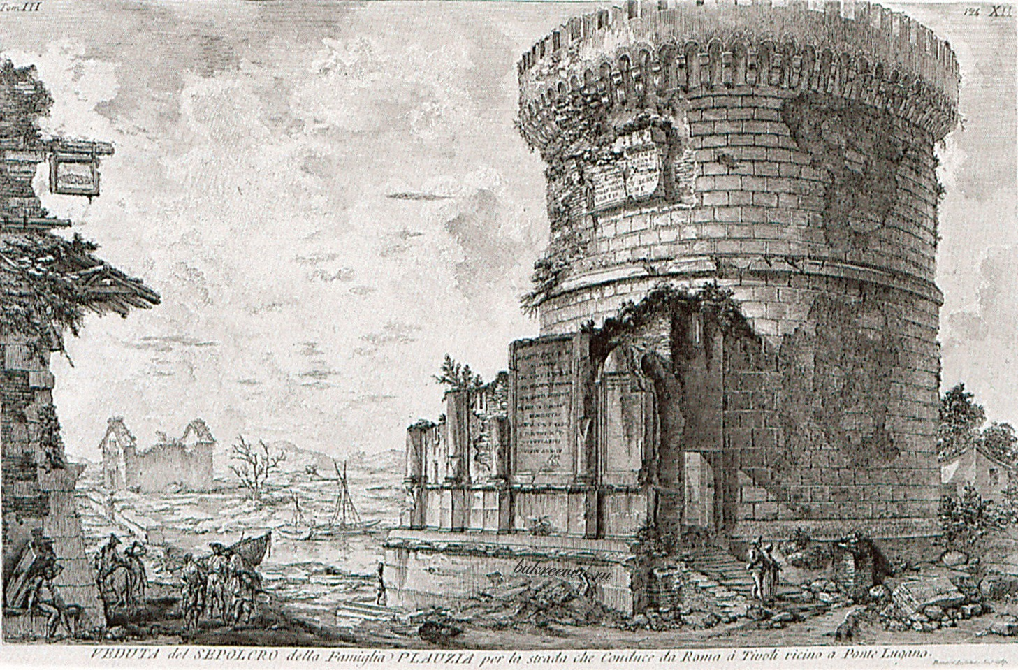 Mausoleo dei Plauzi Ponte Lucano 26