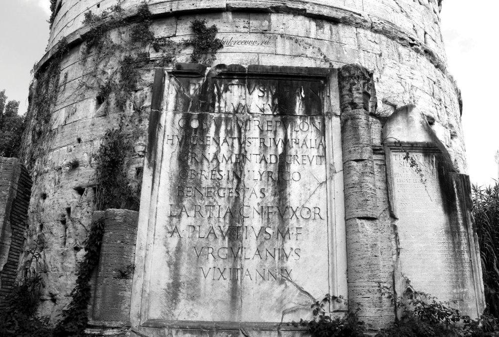 Mausoleo dei Plauzi Ponte Lucano 27