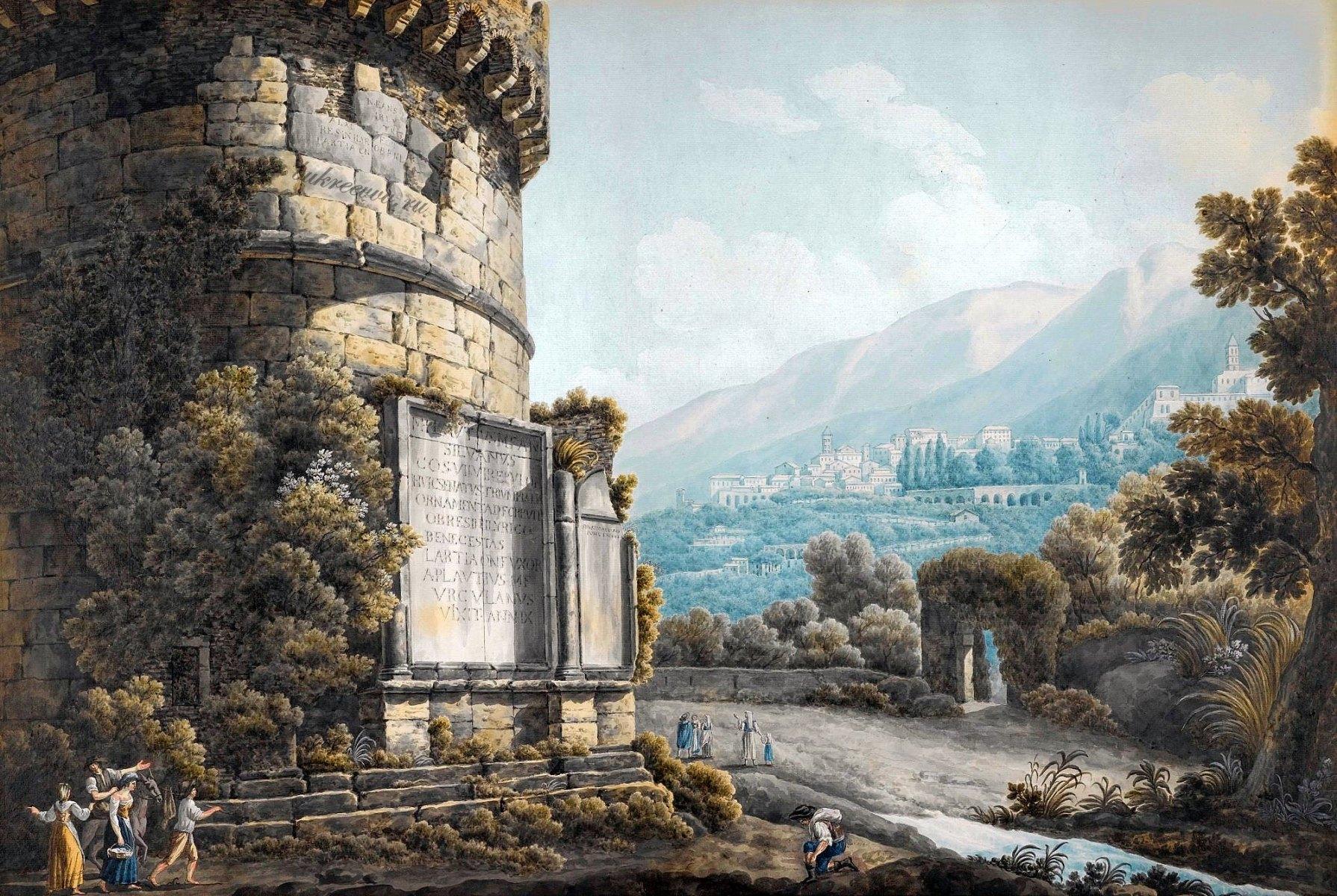 Mausoleo dei Plauzi Ponte Lucano 28