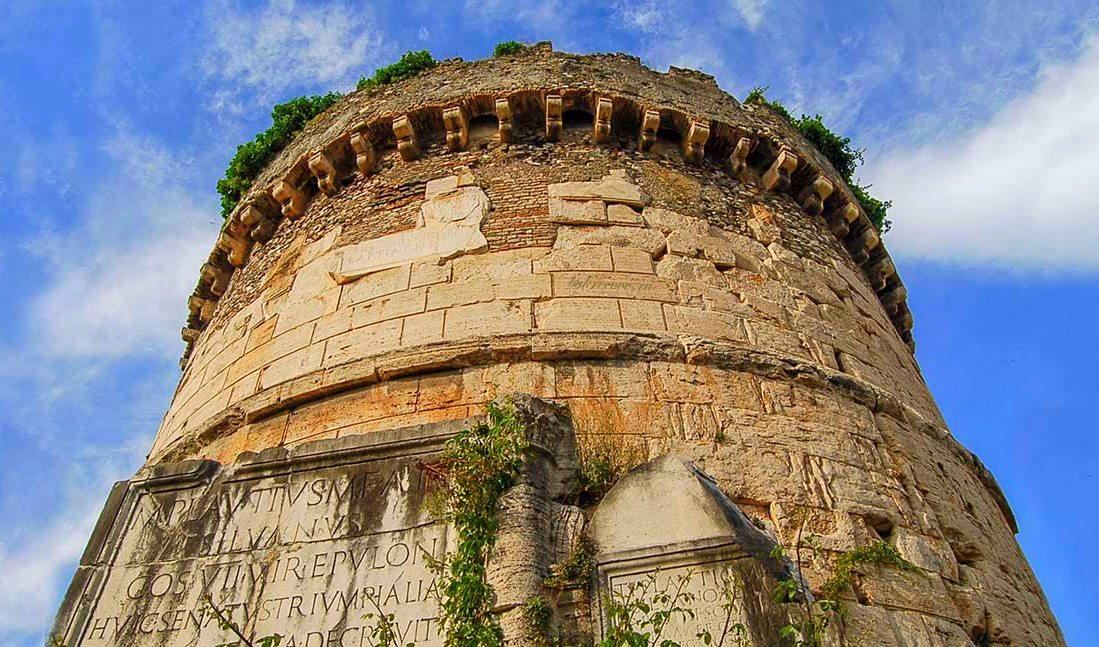 Mausoleo dei Plauzi Ponte Lucano 38